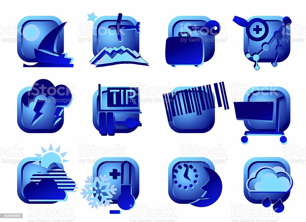 www buttons - design elements IV royalty-free stock photo