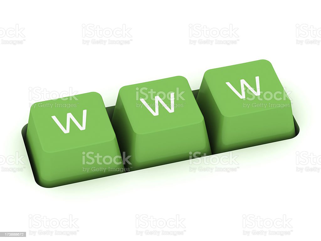 www buttons royalty-free stock photo