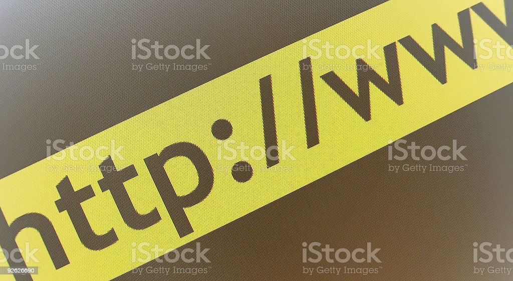 www - Contact informations royalty-free stock photo