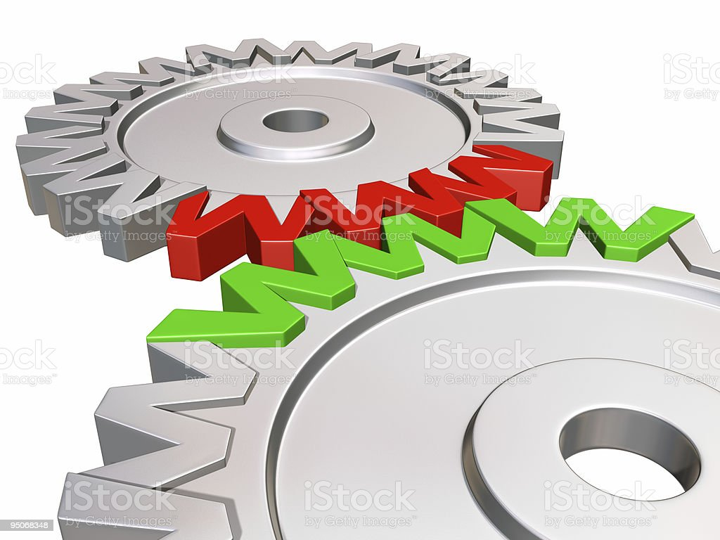 www gear wheels royalty-free stock photo