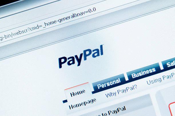 www.paypal.com pagina principale - paypal foto e immagini stock