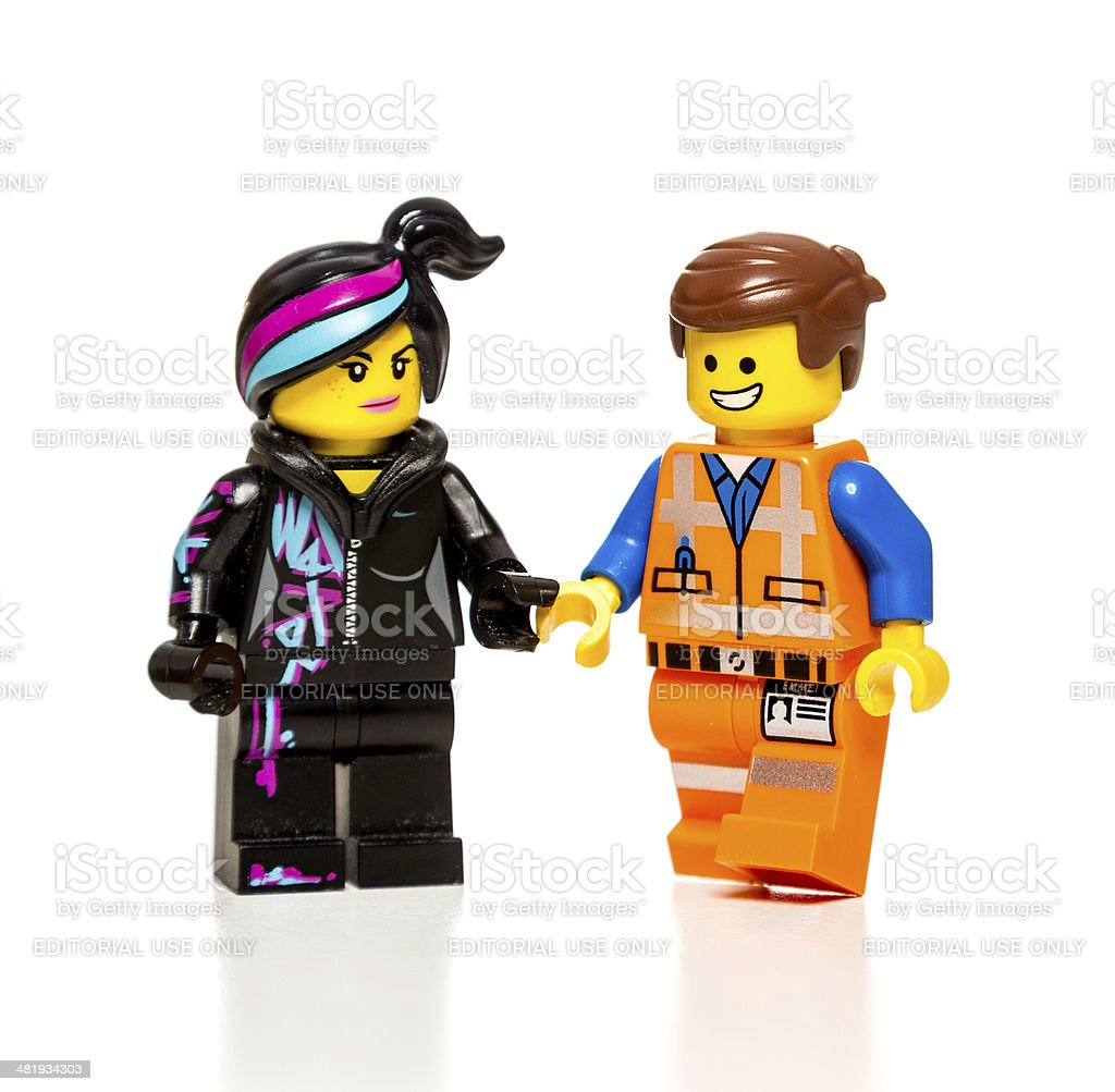 Wyldstyle And Emmet Lego Movie Characters Stock Photo Download Image Now Istock