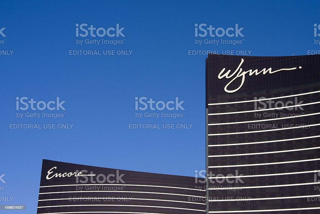 Wynn and Encore Resort Hotels in Las Vegas stock photo