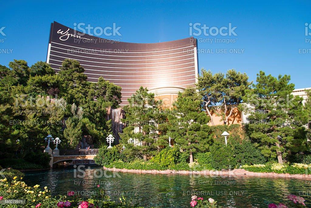 Wynn at Las Vegas Strip stock photo