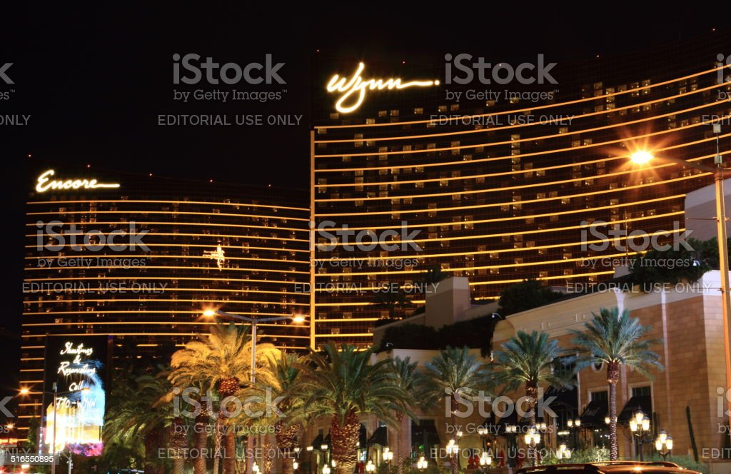 Wynn Encore Hotel Complex one of the Finest in Vegas stock photo