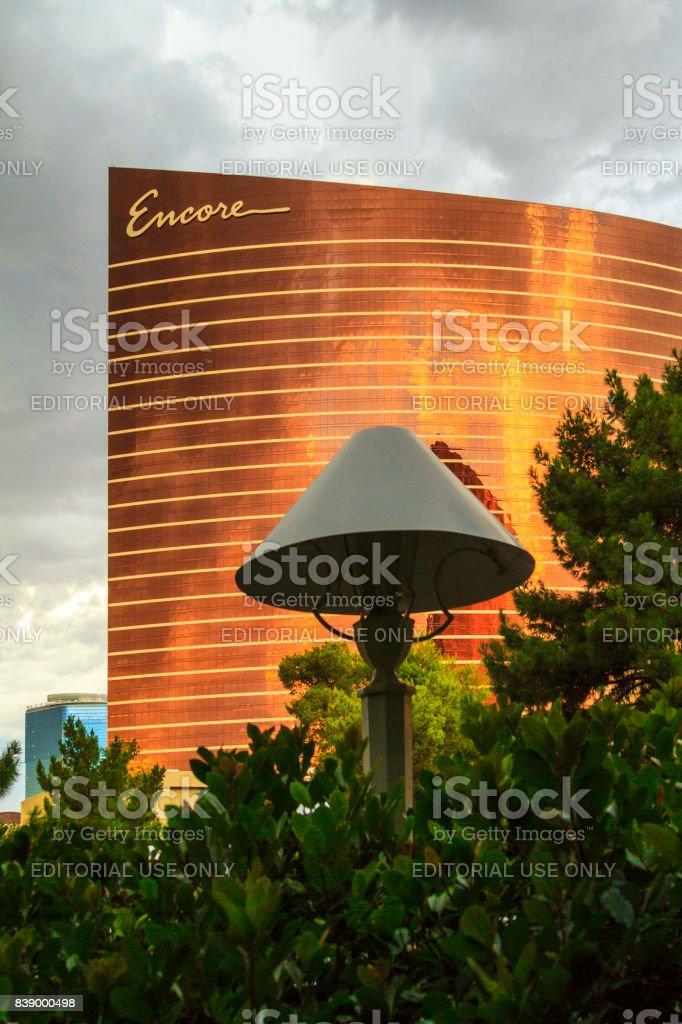 Wynn Hotel and Casino  -  Las Vegas stock photo