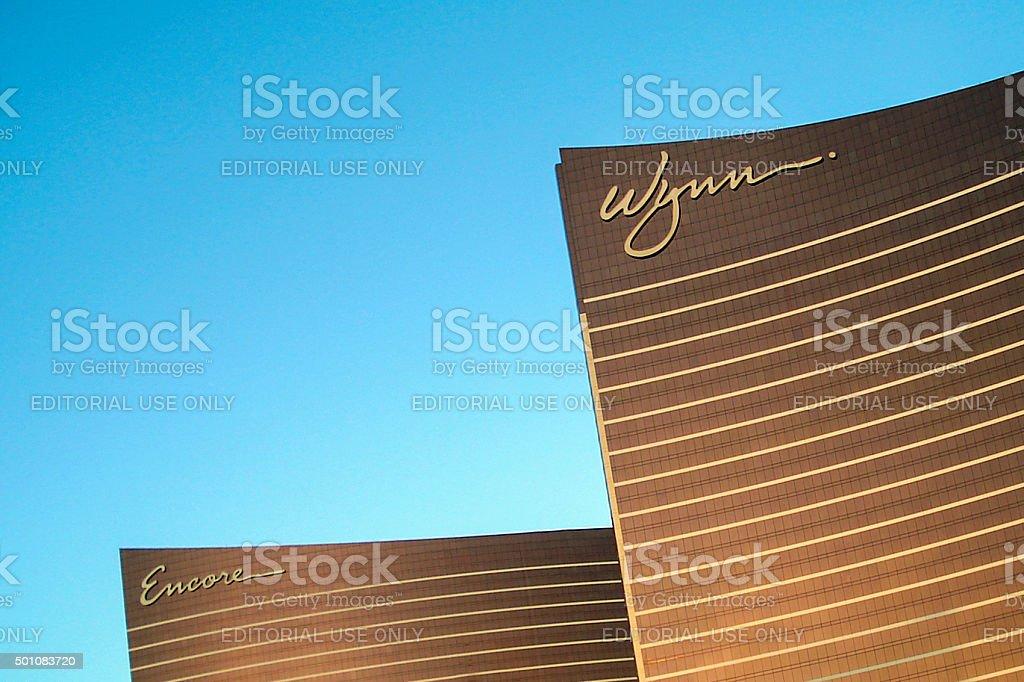 Wynn Hotel Las Vegas stock photo