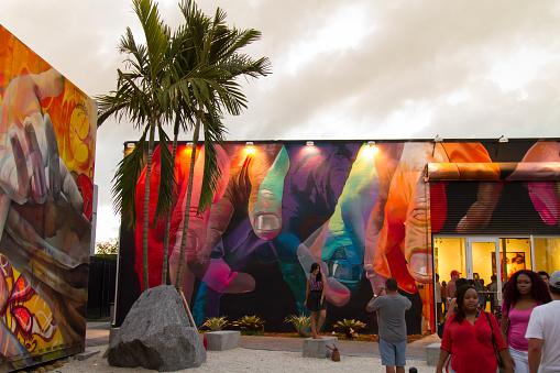 Wynwood Miami Florida Stock Photo - Download Image Now