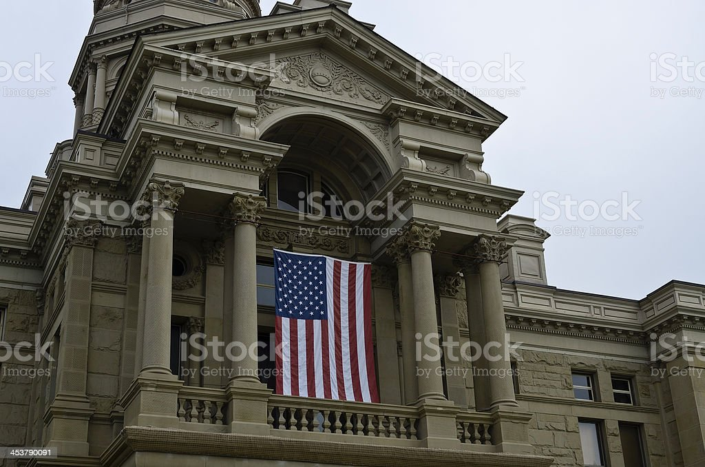 Wyoming Capitol Building Stock Photo - Download Image Now