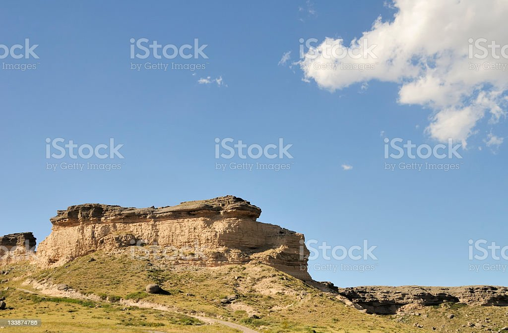 Wyoming Landscape royalty-free stock photo