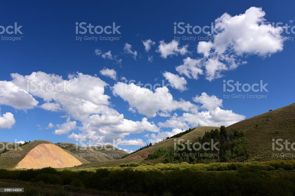 Wyoming, EE. UU. foto de stock libre de derechos