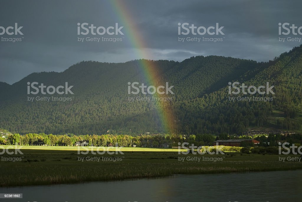 Wyoming's End royalty-free stock photo