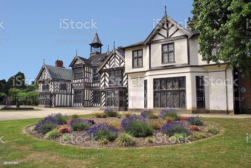 Wythenshaw Hall stock photo