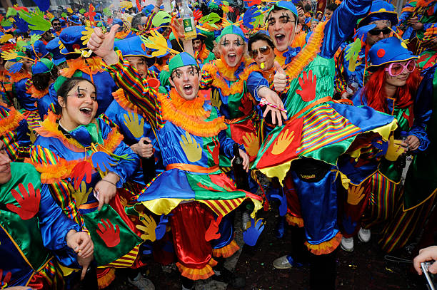 Xanthi Carnival stock photo