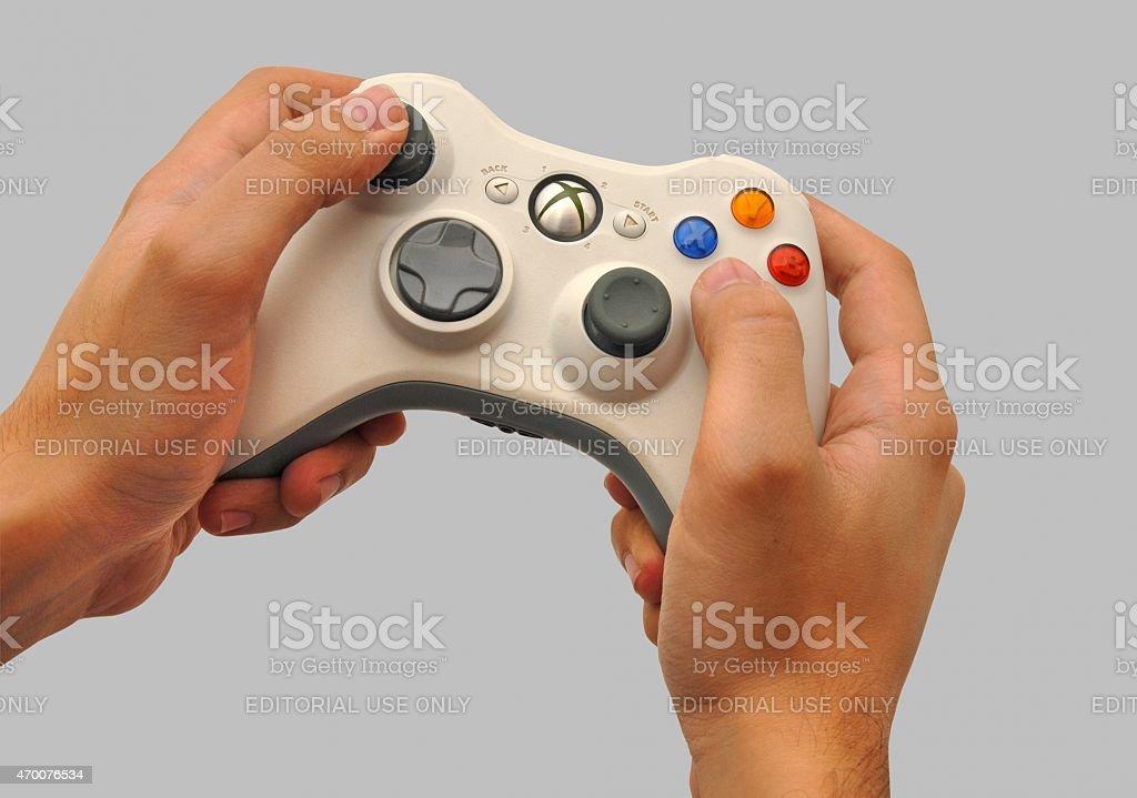Xbox 360 Controller stock photo