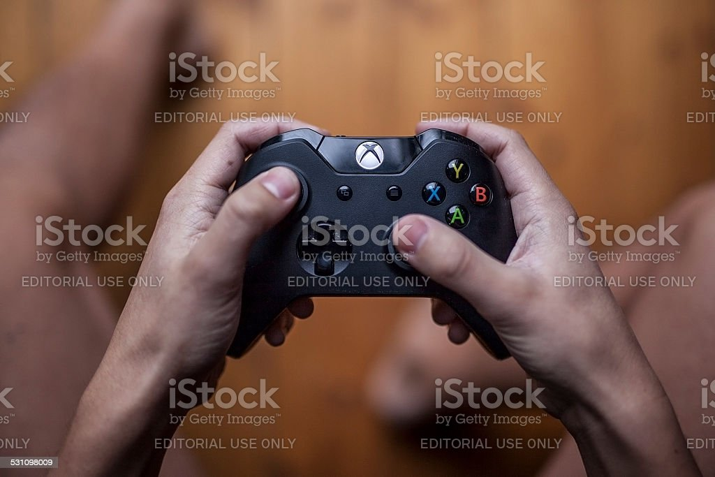 Xbox One Controller - Close Up stock photo