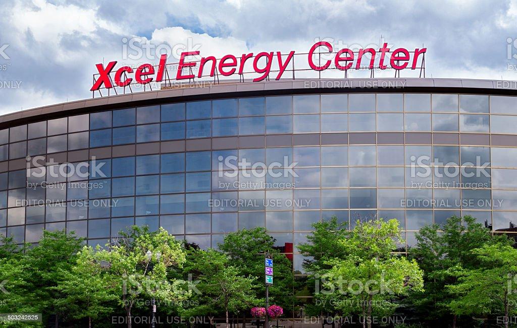 Xcel Energy Center stock photo