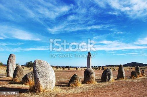 istock Xerez Cromlech near Monsaraz, Alentejo, Portugal 867583830