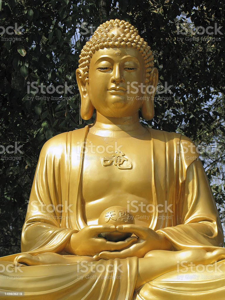 Xian Buddha Statue royalty-free stock photo