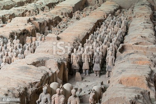 istock Xian China Terra Cotta Warriors 613255556
