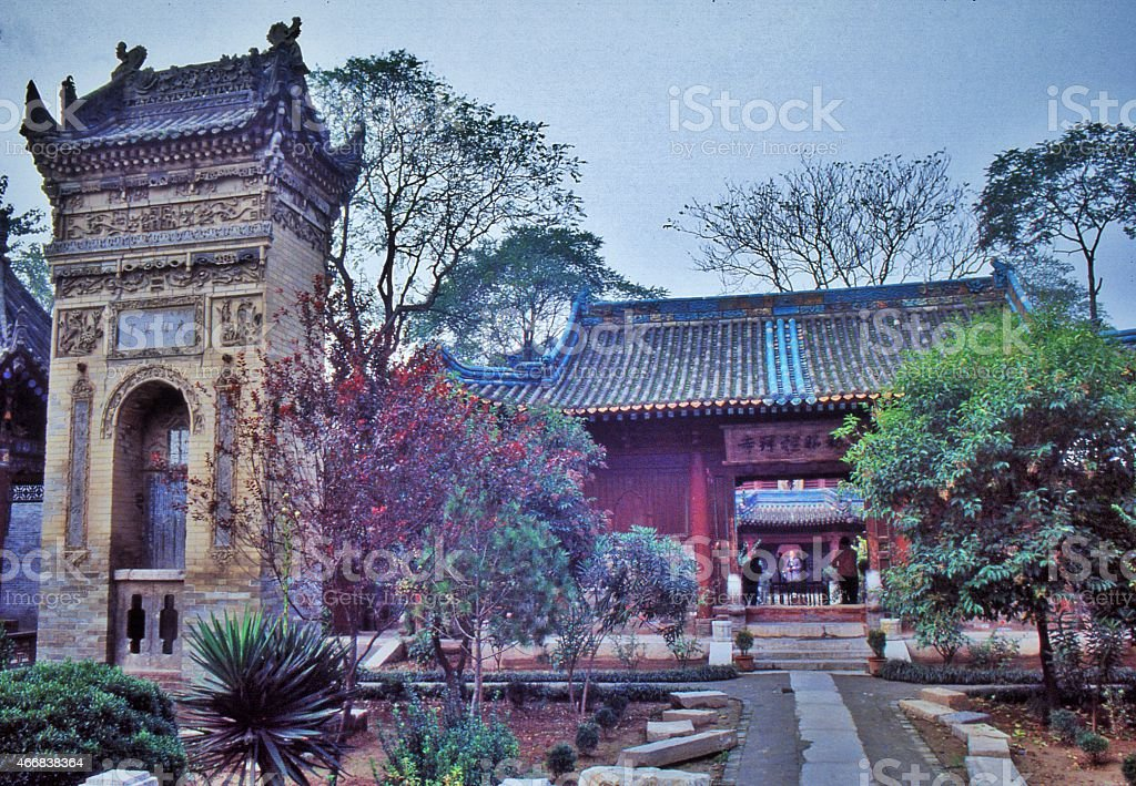 Xi'an, Great Mosque stock photo