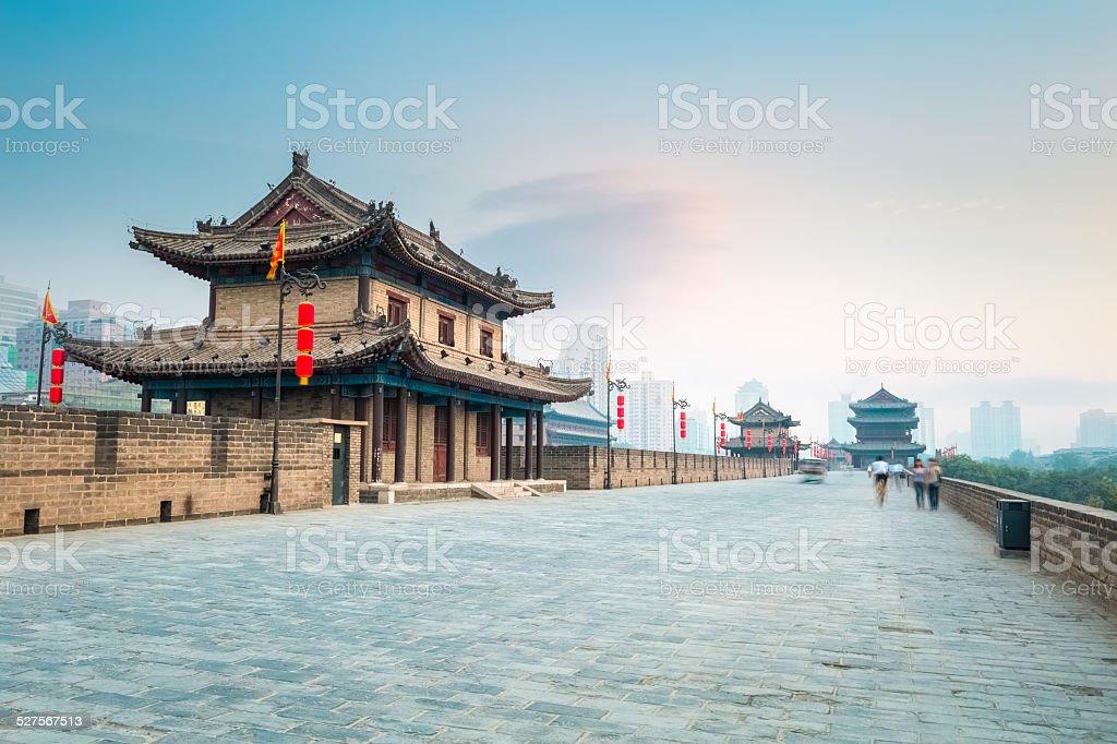 xian stock photo