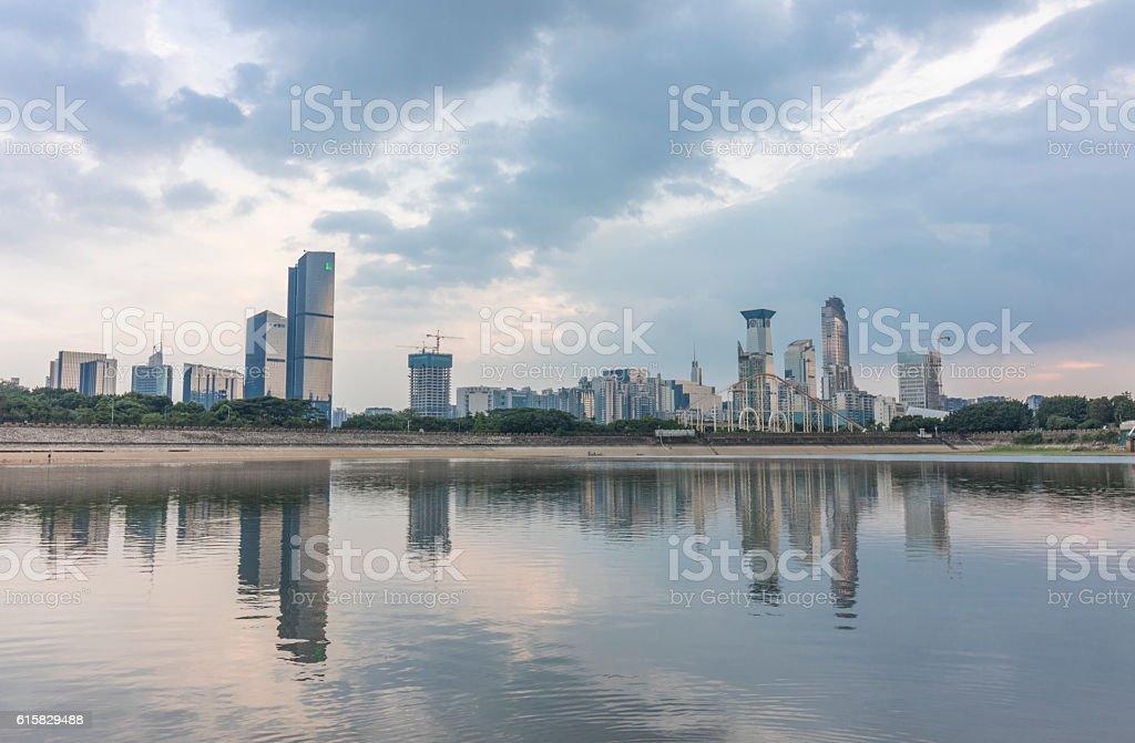 XiangMi LAKE in Shenzhen stock photo