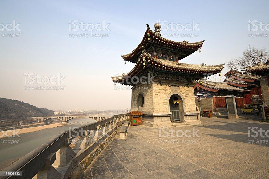 Xiangshan temple stock photo