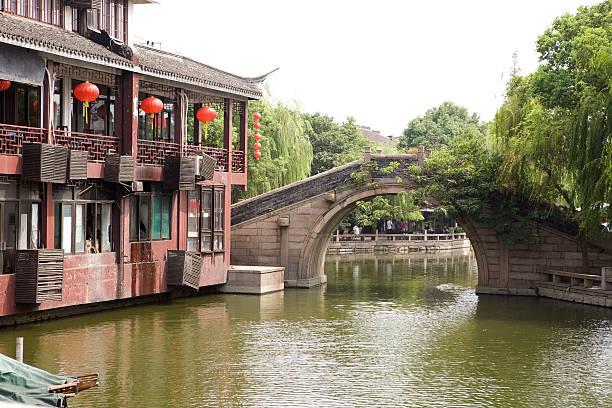 Xianjiang Bridge - Zhou Zhuang stock photo