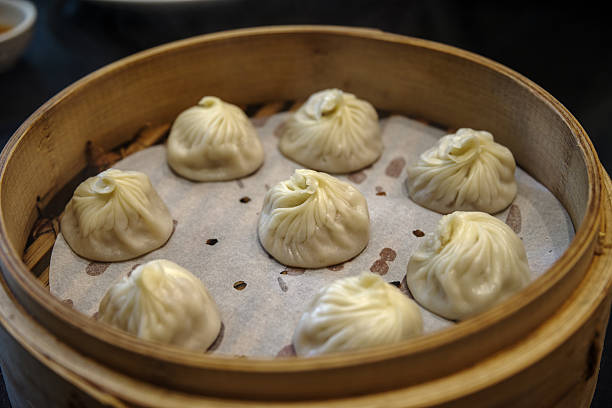 Xiao Long Bao - Chinese Soup Dumplings stock photo