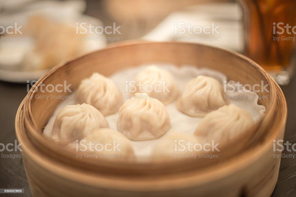 XiaoLongBao Steamed Bun stock photo