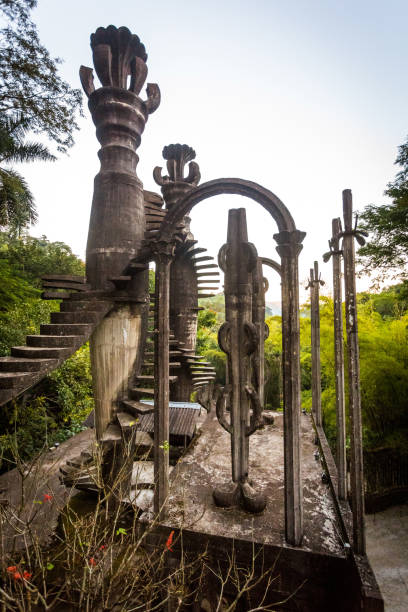Xilitla ruins in Mexico Xilitla ruins in Mexico pueblo magico place san luis potosi stock pictures, royalty-free photos & images