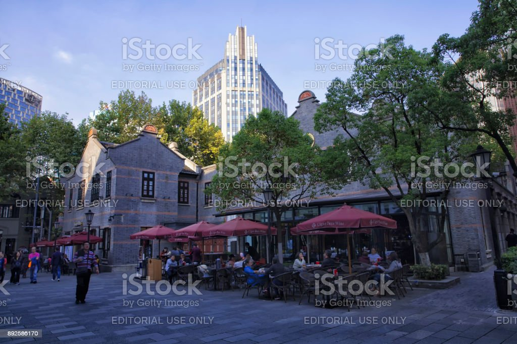 Xintiandi, Shanghai, China stock photo