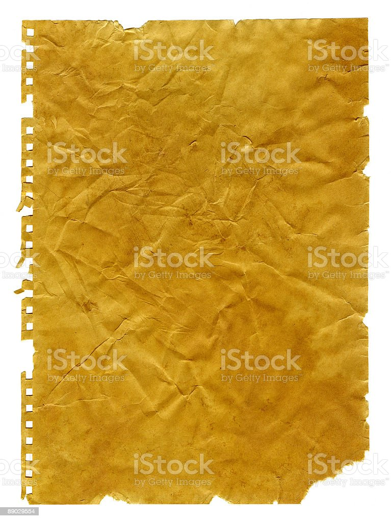 X – Große retro Papier Lizenzfreies stock-foto