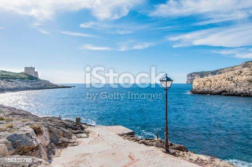 istock Xlendi Bay in Gozo Island, Malta. 186322765