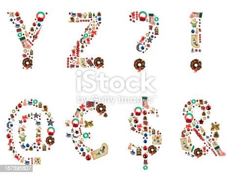 istock XXL Xmas Alphabet 157395807
