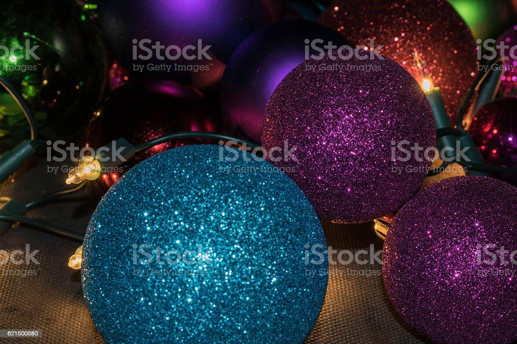 Boules de Noël photo libre de droits