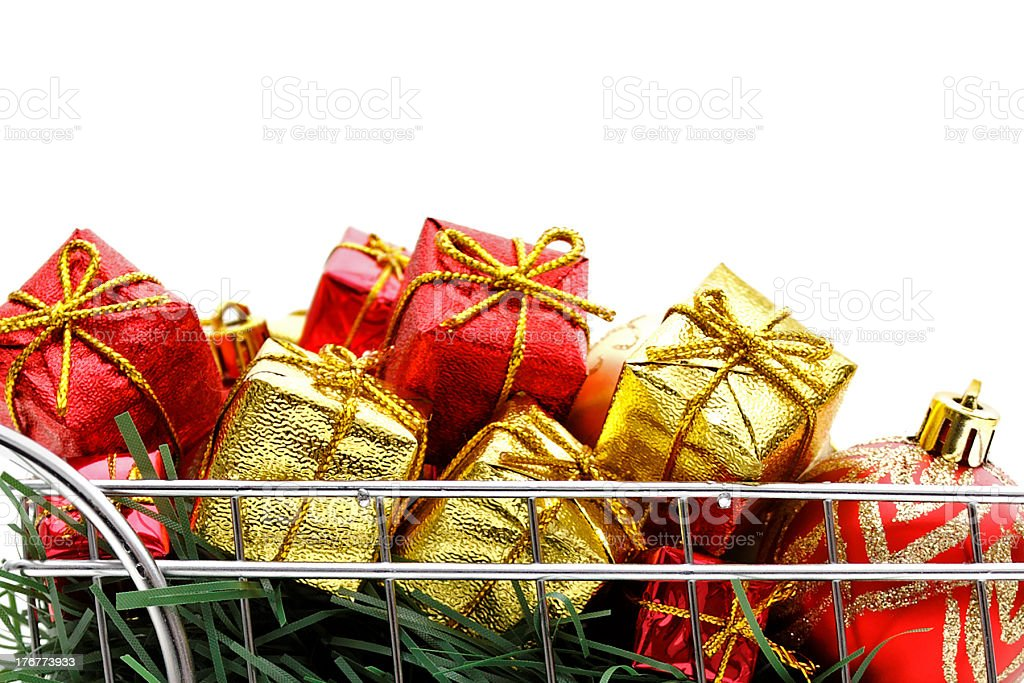 Xmas buying time royalty-free stock photo