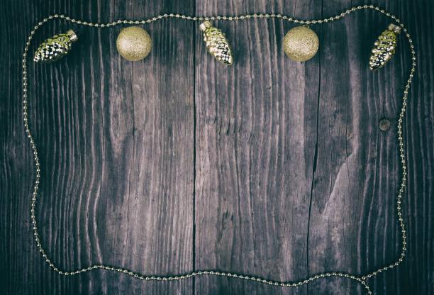 Xmas decoration pattern stock photo