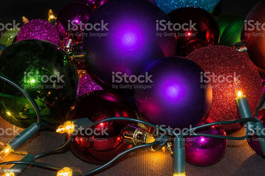 Weihnachten Lichter Lizenzfreies stock-foto