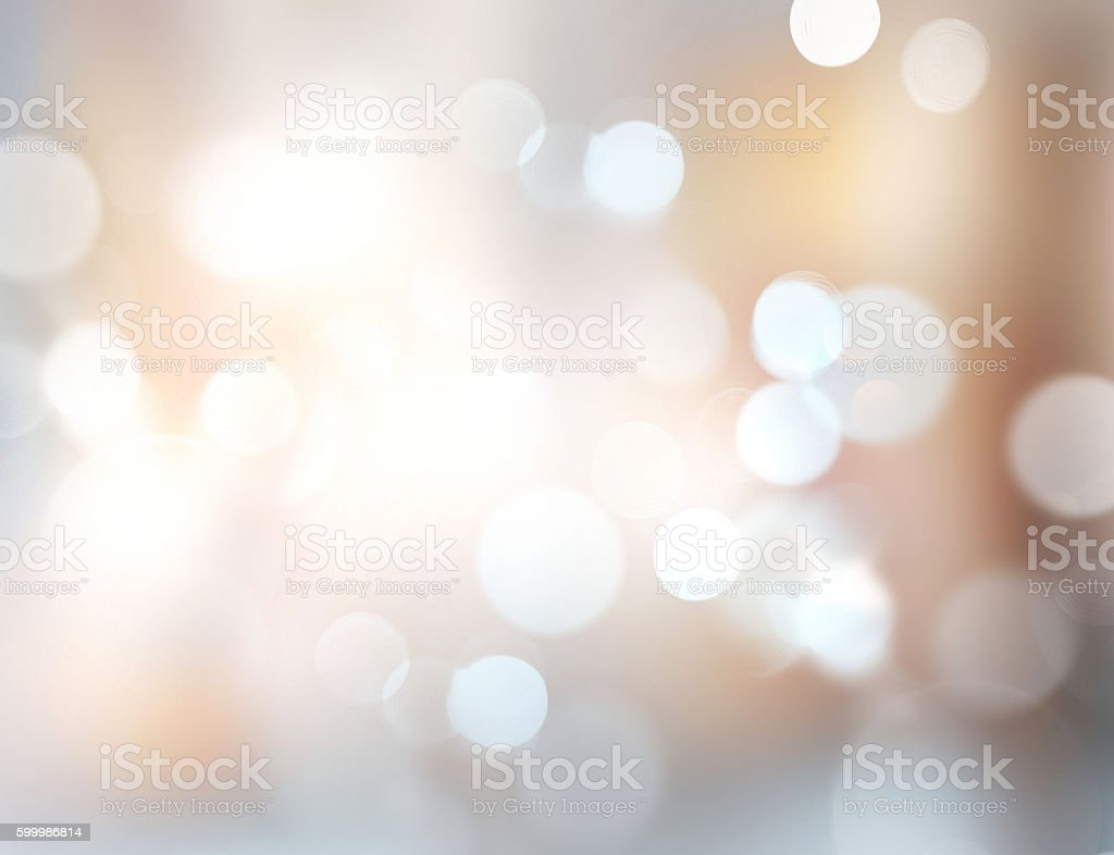 Xmas new year winter blurred lights illustration background. - foto stock