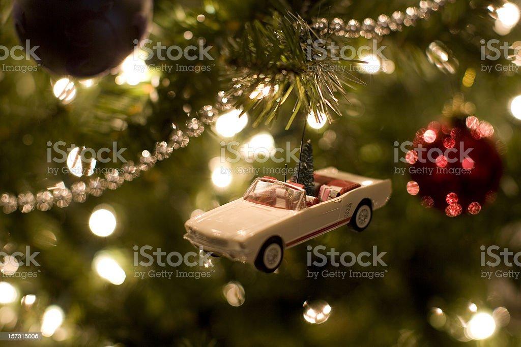 Xmas ornament stock photo