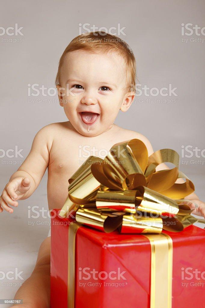 크리스마스 선물 - 로열티 프리 감정 스톡 사진