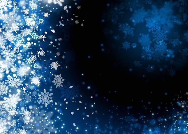 Boże Narodzenie śniegu tło abstrakcyjne – zdjęcie