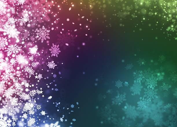 Boże Narodzenie śniegu piękne kolorowe tło abstrakcyjne – zdjęcie