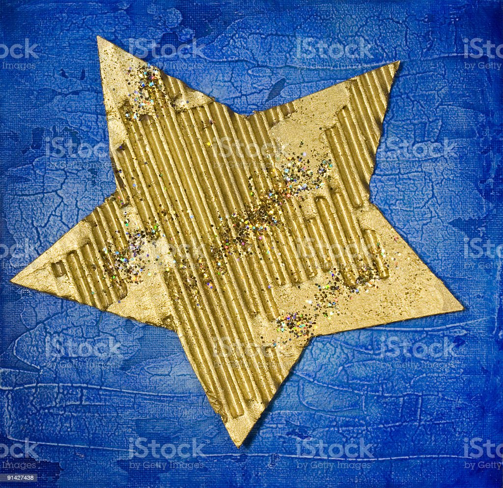 xmas star royalty-free stock photo