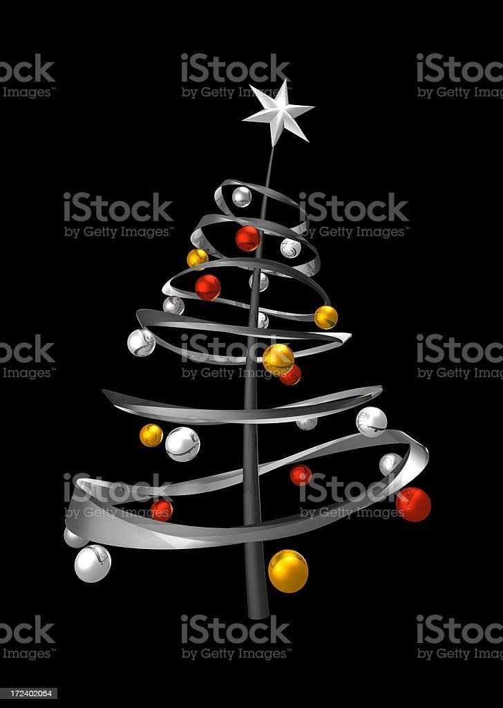 X-Mas Tree royalty-free stock photo