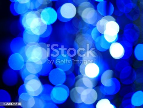istock Xmas winter holiday blue background 1083904846