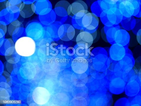 istock Xmas winter holiday blue background 1083905260