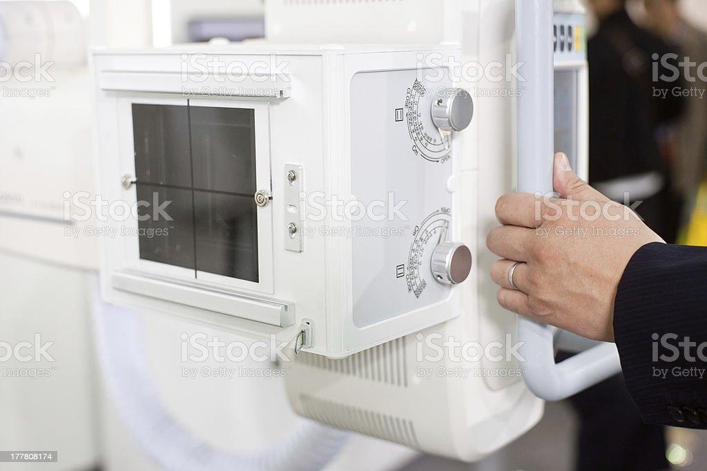 x-ray fluoroscopic equipment, royalty-free stock photo